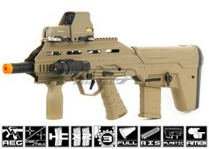 APS Urban Assault Rifle Airsoft Gun ( Dark Earth ) $205