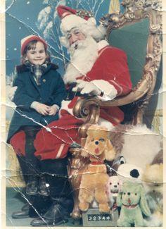 visit with Santa around 1969