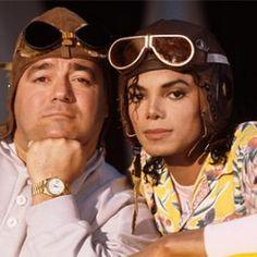 Michael Jackson and Frank Dileo