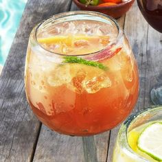 Georgia Peach Sangria 1 (11.5- oz.) can peach nectar  1/2 cup peach flavored brandy  1/3 cup lime juice  1/4 cup sugar  1 (750-ml.) bottle rosé wine  1½ cups lime flavored sparkling water  Peach slices (for garnish)  Lime slices (for garnish)