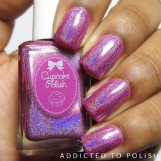 Cupcake Polish Hatch of the Day | Addicted to Polish