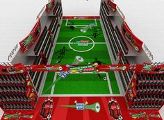 2010 Soccer World Cup - Coca Cola Latin Center on Behance