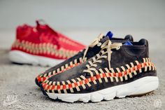 Nike Footscape Woven Chukka Knit 'Red Reef' & 'Midnight Fog'