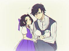 Jumin and his daughter