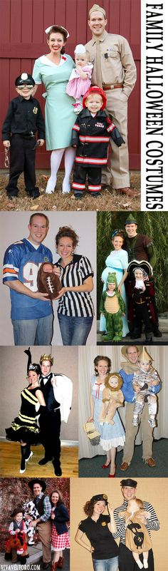 Love these Halloween costume ideas for families!