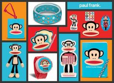 Paul Frank Happy Meal Toys at McDonalds. I love this. I hate this.