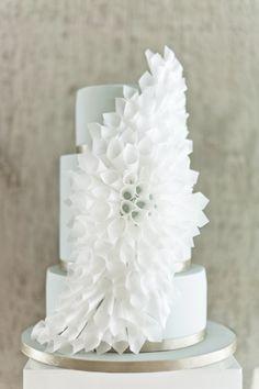 Origami cake, pineado por HABITAN2 http://habitandos.blogspot.com.es