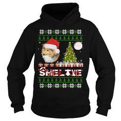 Sheltie ugly christmas sweater sheltie,sheltie christmas day,sheltie black friday,sheltie christmas eve,sheltie noel - Tshirt