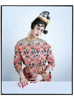 W magazine march 2012 / magical thinking / tim walker / asia chow / jacob k