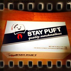 stay puft marshmellows from thinkgeek!
