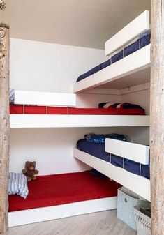 Short Bunk Beds for Small Rooms . Short Bunk Beds for Small Rooms . Bunk Beds Small Room, Bunk Beds Built In, Modern Bunk Beds, Bunk Beds With Stairs, Bunk Rooms, Kids Bunk Beds, Bed Stairs, Bedrooms, Bunk Bed Ideas For Small Rooms