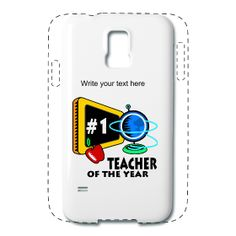 Teacher Of The Year Samsung Galaxy 5 Case available from PersonalizedSouvenirs.com.