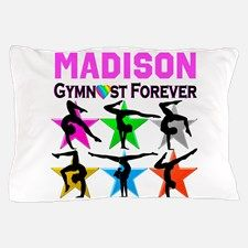 GYMNAST FOREVER Pillow Case Your Gymnast will be thrilled to decorate her room with our awesome personalized Gymnastics bed covers and pillow cases.   http://www.cafepress.com/sportsstar/10114301 #Gymnastics #Gymnast #WomensGymnastics #Lovegymnastics #Personalizedgymnast
