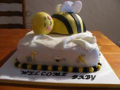 Baby Bumble Bee Cake