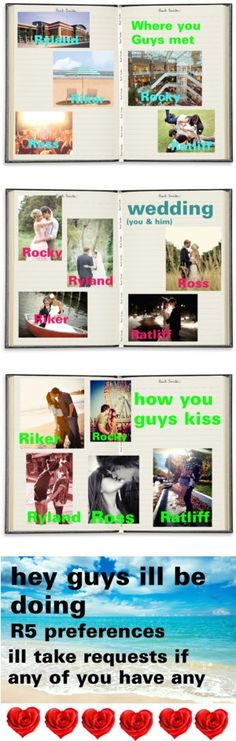 """""""r5 prefences"""" by janiris-r5 ❤ liked on Polyvore"""
