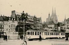 Bilderbuch Köln - Vorortzug am Heumarkt