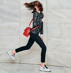 A great burst of energy needs matching shoes Natalia Ferviu wears #HOGAN #Interactive #HoganClub #sneakers Join the #HoganClub #lifestyle and share with us your @hoganbrand pictures on Instagram