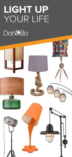 Modern Table Lamps & Floor Lamps | Shop Now at dotandbo.com