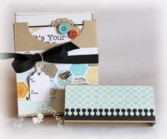 Simple card box tutorial by Debbie Carriere