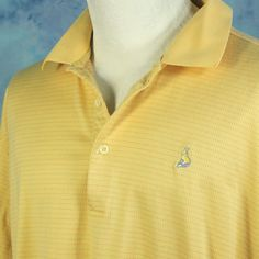 Fairway Greene Mens Large Fox Den Golf Club Knoxville TN Shirt Mercerized Cotton #FairwayGreene #PoloRugby
