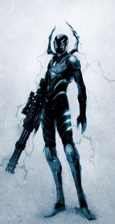 Blue Beetle - naratani.deviantart.com