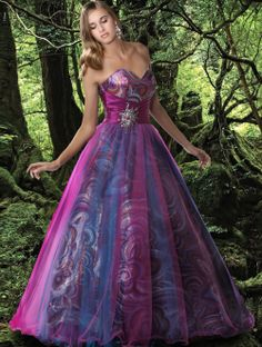 Disney Forever Enchanted Prom Dress. I so would have rocked this