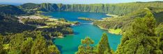 The Azores Islands are a small archipelago off the coast of Portugal. Verdant and lush, the Azores offer many beautiful sites to see and interesting places to visit.
