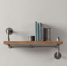 restoration hardware rope shelving | ... Pipe Shelf | Shelving & Storage | Restoration Hardware Baby & Child