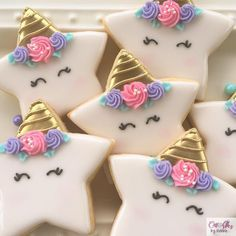 desserts recipes cookies shower sugar ideas baby new 61 Baby shower desserts recipes sugar cookies 61 New ideas Fancy Cookies, Iced Cookies, Cute Cookies, Cupcake Cookies, Star Sugar Cookies, Cookie Favors, Iced Sugar Cookie Recipe, Decorated Sugar Cookies, Royal Icing Decorated Cookies
