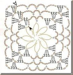 easy crochet squares | visit iris milkywaygalaxy blogspot ro
