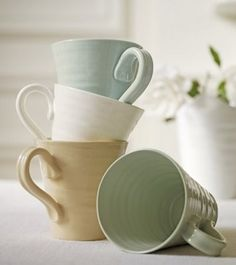 I just bought a whole set of Sophie Conran's dinnerware.   It is so beautiful and practical. I cannot wait for it to arrive!