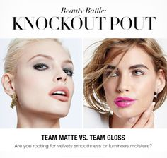 Are you Team Matte or Team Gloss? Stay-true lip color that never cakes, cracks or compromises, or shades that pair incredible color payoff with long-lasting shine...  Click on the pic, or browse my eStore, here >> www.youravon.com/b4p