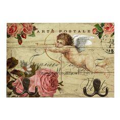 Vintage World Maps, Angel, Angels