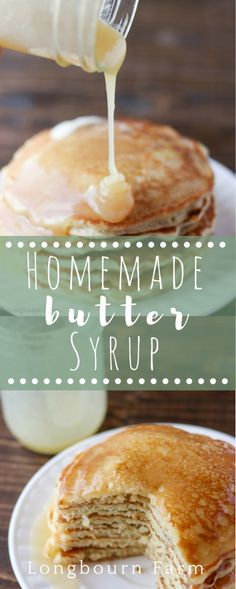 Homemade syrup is easy to make and so delicious! This recipe turns out every time. It's buttery, and thick and has a unique flavor twist!