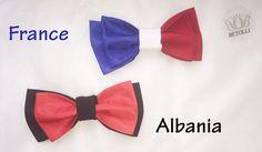FIFA2016 Betolli bow ties for France&Albania football fans # FIFA2016