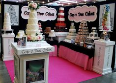 bridal show booth ideas | Cup a Dee Cakes Blog: February 2011