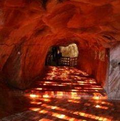 Beautiful Walkway in the Khewra Salt Mine