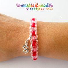 Bracelet Pearl Fishtail ! Visionner le tutoriel sur www.CreasticBracelet.com