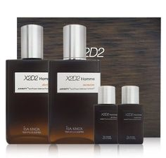 KOREAN COSMETICS LG Household  Health Care _ Isa Knox X2D2 Homme 2piece set Homme Moisturiser 130m  Homme After Shave 130ml  After Shave25ml Homme Moisturiser25ml male only skin lotion set AntiWrinkle AntiAging 001KR ** Want to know more, click on the image.