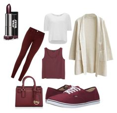 """""""Untitled #262"""" by dr-azzko on Polyvore featuring Vans, dVb Victoria Beckham, Vero Moda, Michael Kors and Monki"""