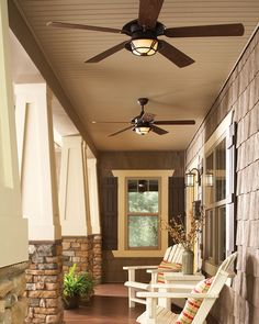 Indoor Ceiling Fans Vs. Outdoor Ceiling Fans: A Where to Use Guide ...