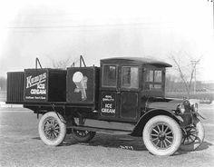 Kemps Ice Cream truck, Minneapolis.