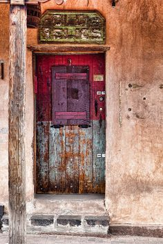 """Old Relics"" Santa Fe, New Mexico By Ken Piorkowski     .....rh"