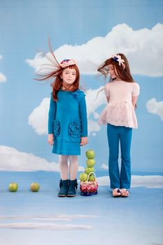 ALALOSHA: VOGUE ENFANTS: I Pinco Pallino AW'13 BLUE