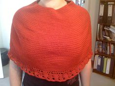 Red riding hood capelet.  This took forever on and off, but the payoff was worth it.