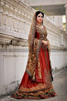Pakistani Bridal Wear | Photo by Irfan Ahson