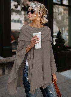 Womens Plus Size Long Tunic Shirt 2020 - Winter Outfits - Women's Fashion Mode Outfits, Fall Outfits, Casual Outfits, Fashion Outfits, Fashion Trends, Fashion Clothes, Dress Fashion, Clothes Women, Fashion Games