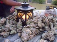 Oyster Roast - so delicious and fun!