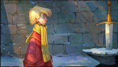 Arte y Animación: Tyson Murphy - Sword in the Stone