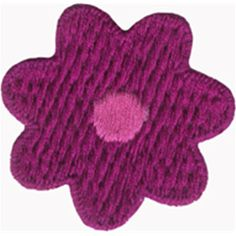 1 7/8  4.7 cm  Fuchsia Flower Applique Sew On by LaceHeavenStore